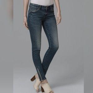 {NWT} WHBM skinny ankle jeans
